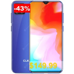 CUBOT #X20 #Pro #6.3 #inch #4G #Phablet #with #6GB #RAM #128GB #ROM #AI #Triple #Camera #Android #9.0 #4000mAh #Battery #- #OCEAN #BLUE