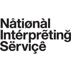 Browns Design, National Interpreting Service, Identity