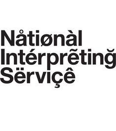 Browns Design, National Interpreting Service, Identity