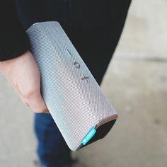 Fugoo Style Wireless Speaker Clutch #cool gadget #gadget #gadget flow #gift ideas #tech