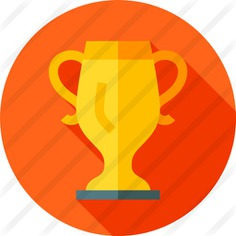 See more icon inspiration related to sports and competition, champion, winner, award, trophy, marketing and cup on Flaticon.