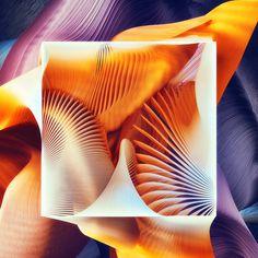 Plumes 3d digital generative artworks by Ari Weinkle design inspiration designblog www.mindsparklemag.com