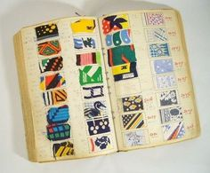 Photography #textile #vintage #french #book