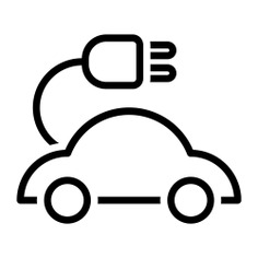See more icon inspiration related to car, plug, transport, electric car, electric vehicle, automobile, ecology and environment and transportation on Flaticon.