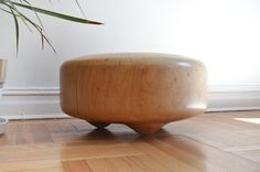 sasha ritter + armand graham sculpt totoro wooden stools with a robot #timbr