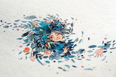 creative, art, design, inspiration, illustration, watercolor,