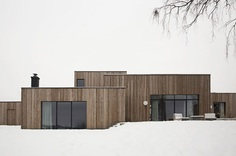 The Gjøvik House – Minimalissimo #minimalism #architecture #snow #wood