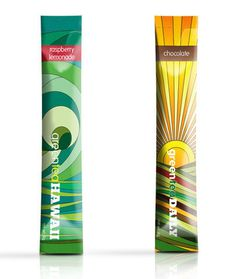 GreenTeaHawaii - TheDieline.com - Package Design Blog