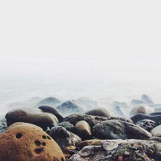 Statigram – Instagram webviewer #ocean #rocks #beach #fog