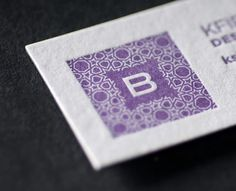 30 Simple Yet Informative Purple Business Cards