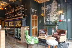 Vagabonds Wines – London Wine Tasting Bar by Finch Interiors