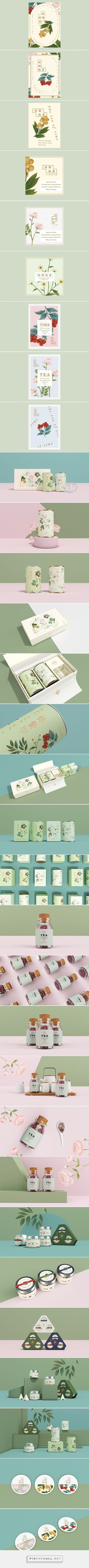 Tea of Time Tea Branding and Packaging by Hellocean