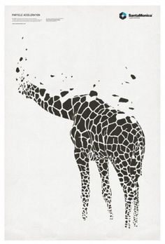 ISO50 Blog – The Blog of Scott Hansen (Tycho / ISO50) » The blog of Scott Hansen (aka ISO50 / Tycho) #poster #giraffe