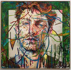 'Fruit Punch', oil on canvas - 190x190cm