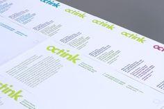 FELT #branding #print #typogra #logo #identity #octink #stationery #type #letterhead #typography