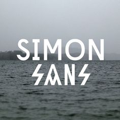 Image of SIMON SANS Typeface #fonts #font #sanserif #modern #serif #type #typography