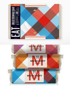 Munchery packaging #branding #packaging #kelli anderson