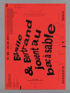 Alex W. Dujet | Arcademi #poster #typography