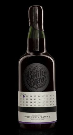 the bold & brave on the Behance Network #whiskey #packaging #design #type #typography