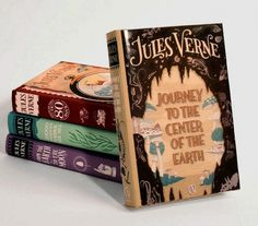 Jules Verne Series #illustration #books #illustrat