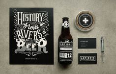 Antidote Brewing Co. Collaterals #branding