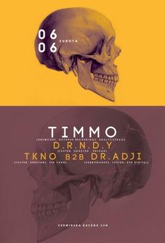 Techno/Poster design