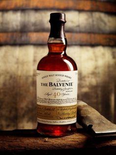 Tiffany Denise #whiskey #a #scotch #malt #signed #label #the #balvenie #single #with