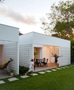 Breeze Bloc House - #architecture, #house, #home,