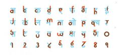 The Hinglish Project - #font #india #hindi #english #typeface #typography
