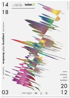 Buamai - Wupwup Plays Kunstart - Viktormatic.com #colors #design #graphic #poster