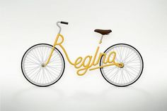 Write a Bike on the Behance Network #lettering #design #graphic #zaech #juri #typography