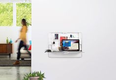 Workspace Hub27 Wall Mount Organizer & Desk | ErgotronHome