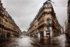 Beautiful Paris Photo in The Rain by Christophe Jacrot #paris #BeautyPhoto
