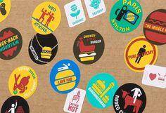 Red Antler   Hamburger Nation #illustration #design #graphic #stickers