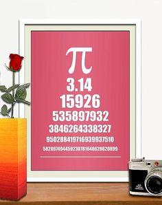 PI style eye chart 11 x 14 poster in different by HelloToYouAll #pi #eye #posters #poster #chart