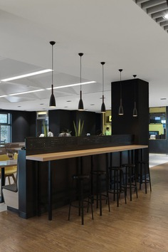 Rationality and Minimalism Define Future Staff Canteen