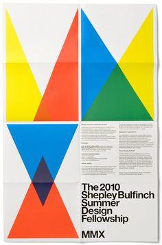 Shepley Bulfinch poster, 2010 #jetset #experimental #poster