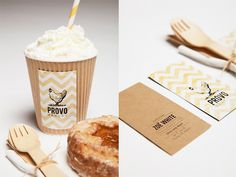 PROVO BAKERY on the Behance Network #coffe #packaging #handcreafted #bussines #cards #carton