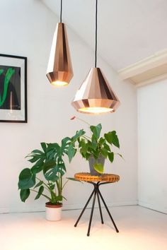 Copper lights by David Derkson Design #pendants #copper #lights