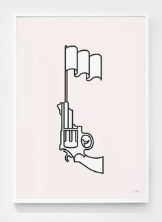 Marco Goran Romano: GQ Germany Illustrations #gun #illustration #vector