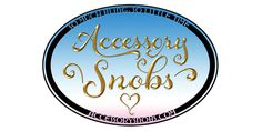 Accessory Snobs #lettering #design #typographic #fashion #logo