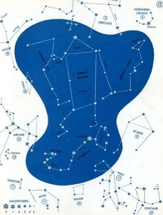 Freaky Fauna's Tumblr - From The Stars: A New Way To See Them by H.A.Rey... #illustration #stars #astronomy