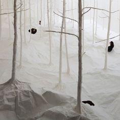 Wald aus Wald by Takashi Kuribayashi #wood #instalation
