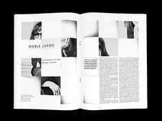 Hacedores de mundo / Sophie Calle on Editorial Design Served #editorial