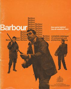 Barbour print design #print #vintage #barbour