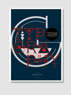 CS Zero #print #color #poster #typography