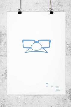 Pixar Minimal Posters on the Behance Network #lee #wonchan #minimalism #rmit #melbourne #tribute #minimal #poster #minimalist #pixar
