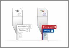hospital Wayfinding | Signage | Sign | Design | 儿童医院户外标识