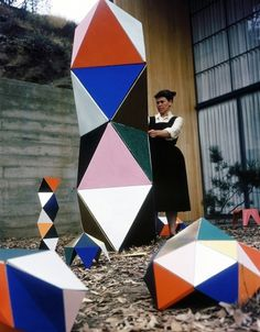 Ray-Eames-The+Toy-1951.jpg 840×1,076 pixels #sculpture #house #modern #ray #women #mid #century #eames