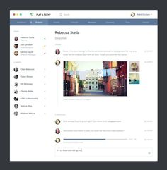 Office by Nabil #chat #project #application #office #website #messaging #app #webdesign #web #management